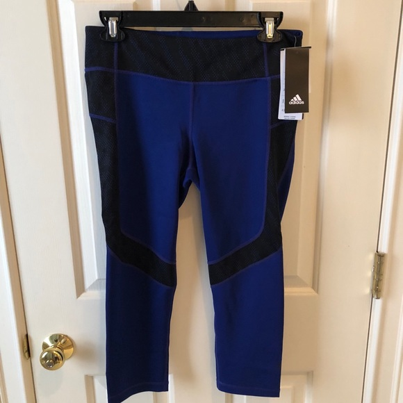 f1c708bf8ed2 Adidas NEW women s Capri leggings. NWT